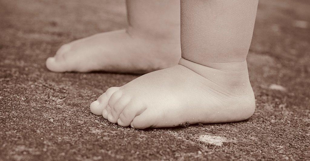 Barnets første sko